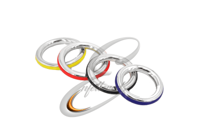 Silicone and Stainless Cock rings