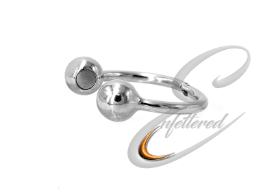 Stainless Magnetic Cock Ring