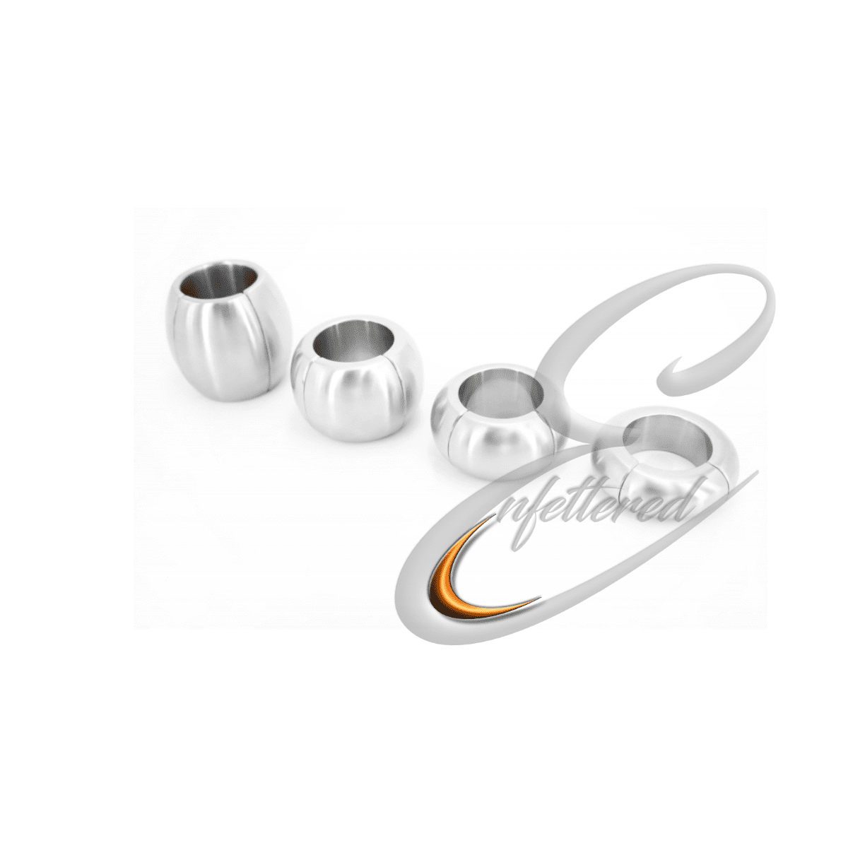 Enfettered Stainless Steel Magnetic Ball Stretcher -Donut