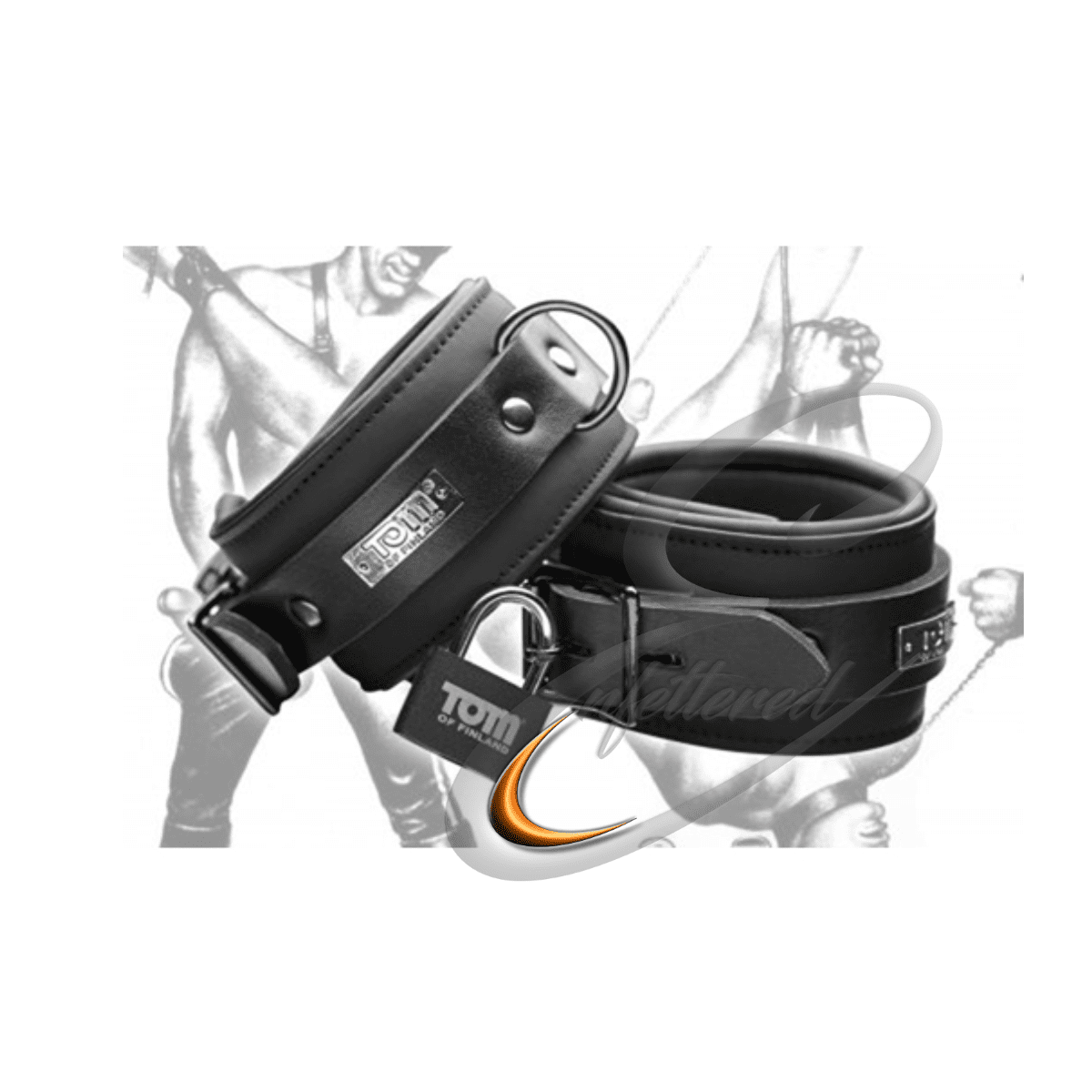 Enfettered Neoprene Ankle Cuffs by Tom of Finland