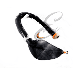 Rebreather Bag with Gasmask connection and air inlet