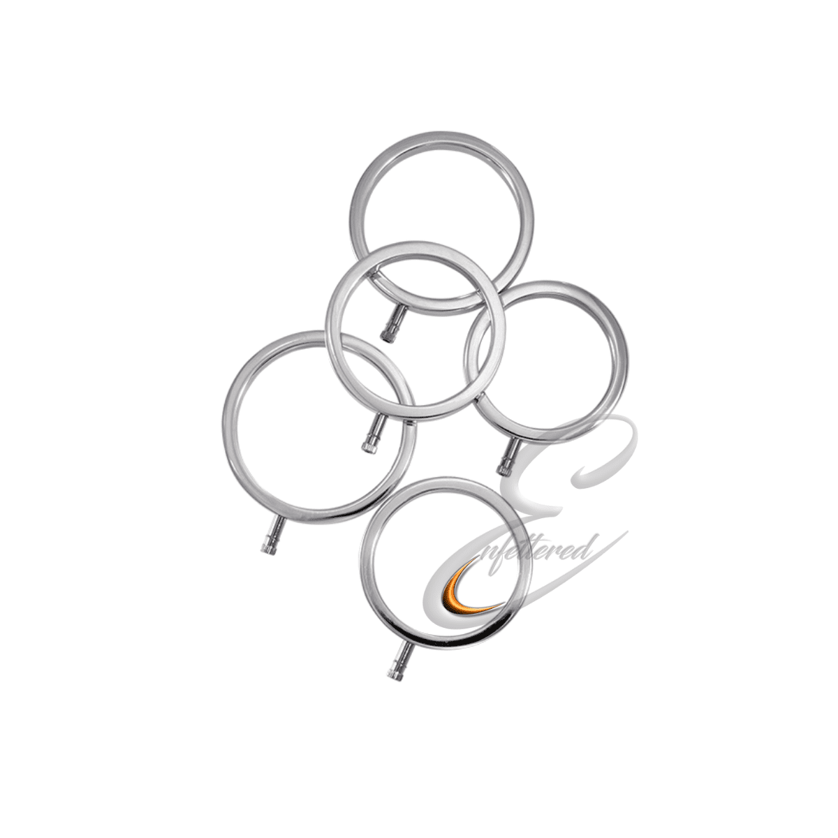 Enfettered Electra Rings Set of 5