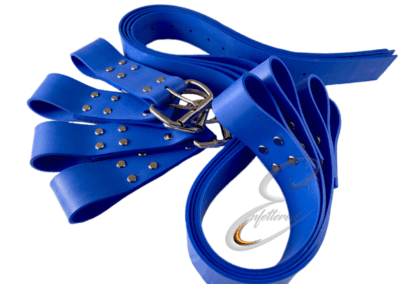 Blue Silicone Bed Straps