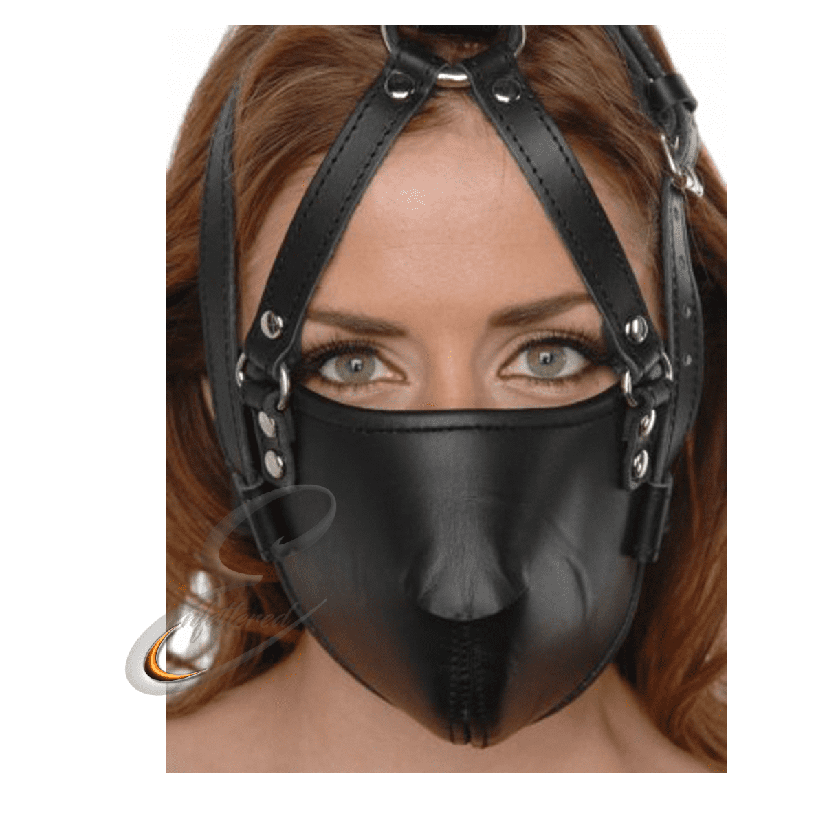 Enfettered Strict Leather FACE Harness Muzzle