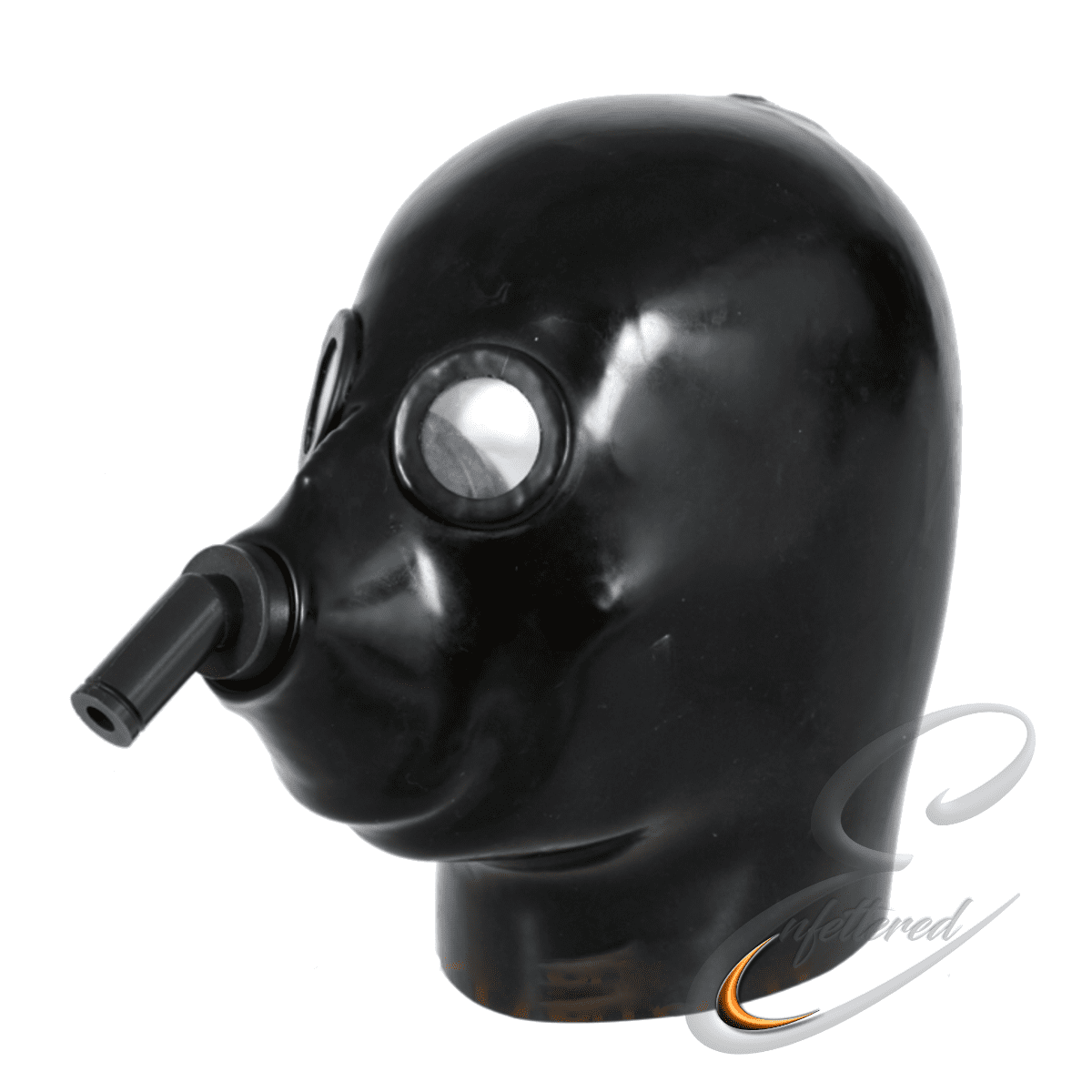 Enfettered Heavy Rubber Anaesthesia Mask
