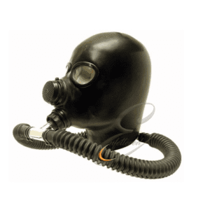 Enfettered Heavy Rubber GasMask Hood