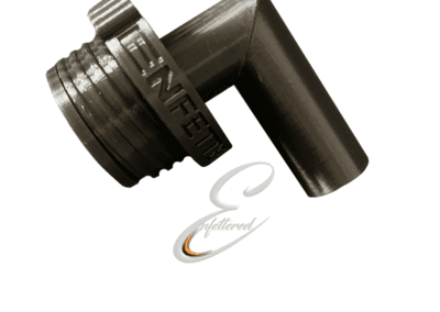Enfettered Angled male pipe fittings