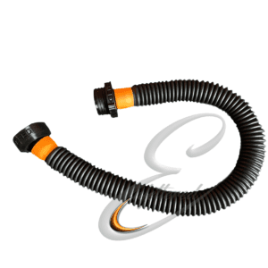 Enfettered Anti Static Corrugated Tube with Connectors