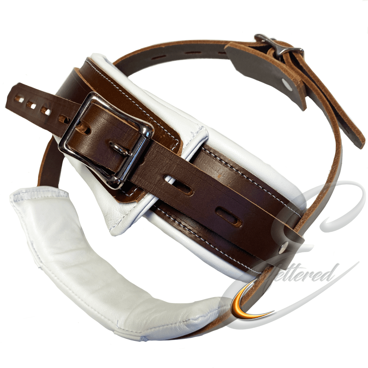 Enfettered Institutional Asylum Restraints – Head and Jaw cuff