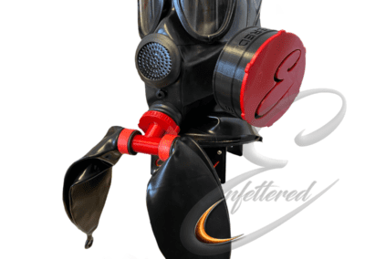 Enfettered 2Port Smell Tin Twin Rebreather Hood