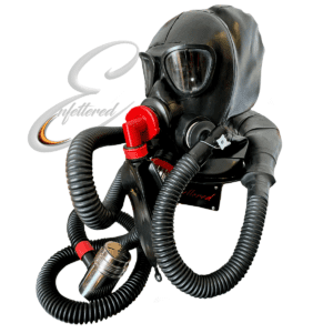 Enfettered Gas Mask Hood with Split Tube Smell Bag Aroma System