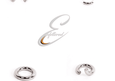 Enfettered Round Magnetic Ball Ring