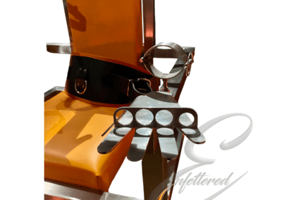 Enfettered Justice Chair Hand Fixation